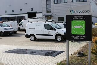 Prologis Partners with Platio in Hungary to Introduce World's First Solar Paving System at a Logistics Park
