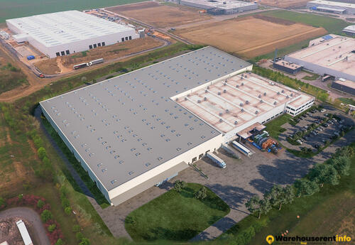 Warehouses to let in Rudolph Logistik Gruppe Tatabánya