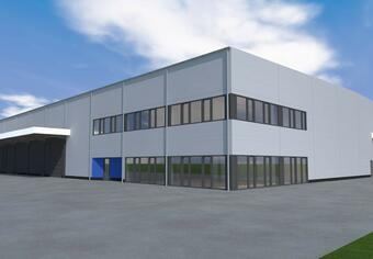 Warehouse - Debrecen Regional and Innovation Science Technology Park